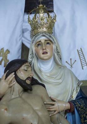 SOLEMNES CULTOS RELIGIOSOS EN HONOR DE NUESTRA EXCELSA PATRONA, LA STMA. VIRGEN DE LAS ANGUSTIAS. TABERNAS 2018.